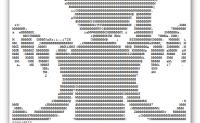 Bad Apple ASCII Javasrcipt字符画版| Bad Apple ASCII Javascript